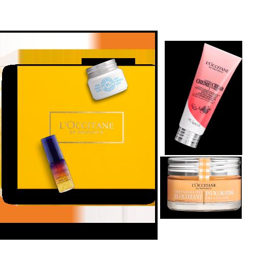 Gesichtspflege-Geschenkbox für strahlende Haut