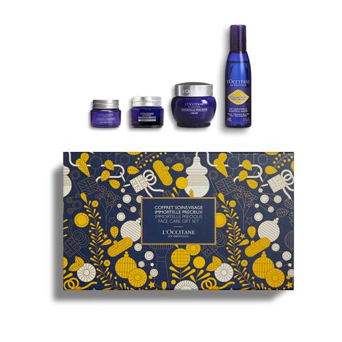 Gesichtspflege-Geschenkbox Immortelle Précieuse bei ersten Falten