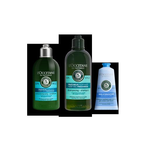 Haarpflege-Trio Pure Frische