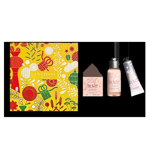 Kirschblüte Körperpflege Kennenlern-Geschenkbox