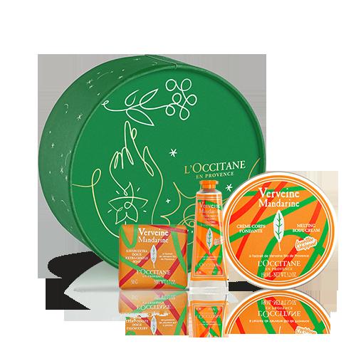 Körperpflege-Geschenkbox Verbene Mandarine