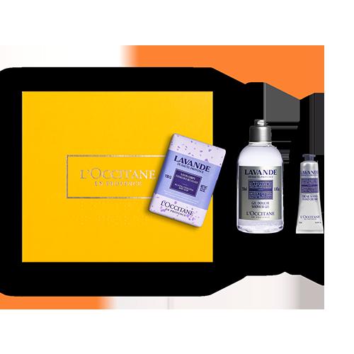 Lavendel Geschenkbox Entspannende Körperpflege