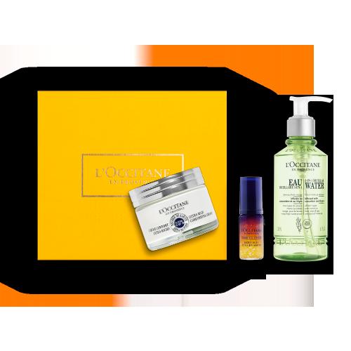 Shea Gesichtspflege-Geschenkbox Intensive Pflege