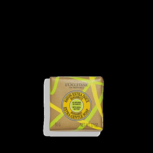 Sheabutter Bergamotte Seife 50g