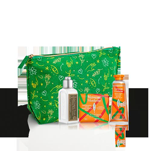 Kennenlern-Täschchen Verbene Mandarine Körperpflege