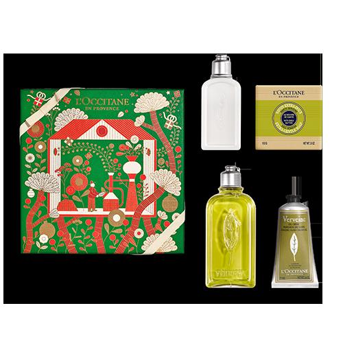 Verbene Frische & Zitronige Körperpflege-Geschenkbox