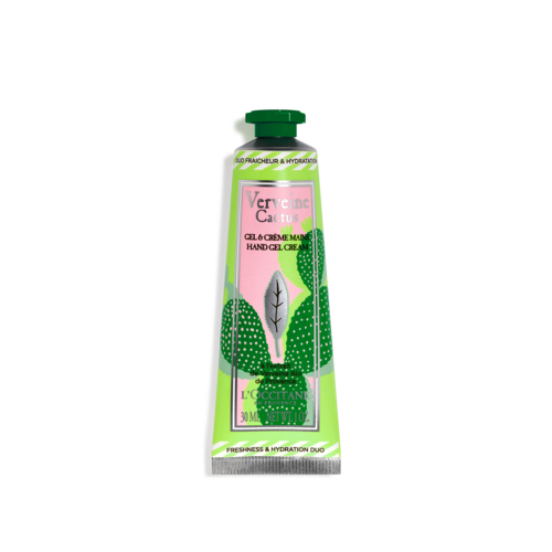 Verbene Kaktus Handgel & -creme 30ml