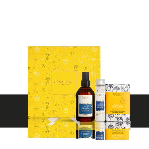 Entspannende Wellness-Geschenkbox