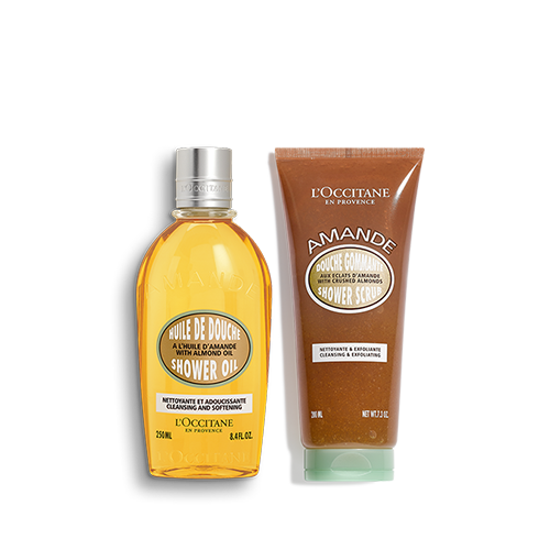 Almond Smooth Shower Duo
