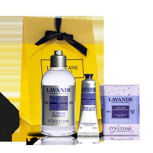 Calming Lavender Trio