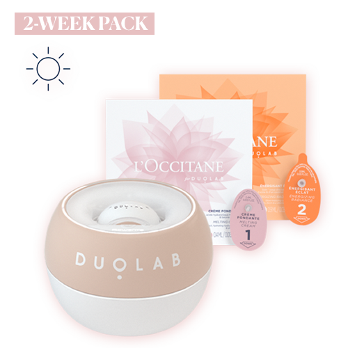 Duolab Device Sand +  2 Weeks Energising Radiance Cream Blend