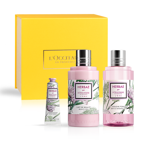 Herbae par L'OCCITANE L'Eau Body Care Collection