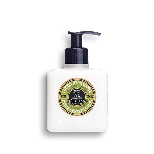 Shea Butter Verbena Extra Gentle Lotion for Hands & Body - Milk