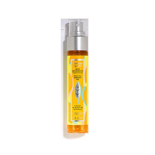 Verbena Fragrance, Body & Hand Care Range from L'Occitane
