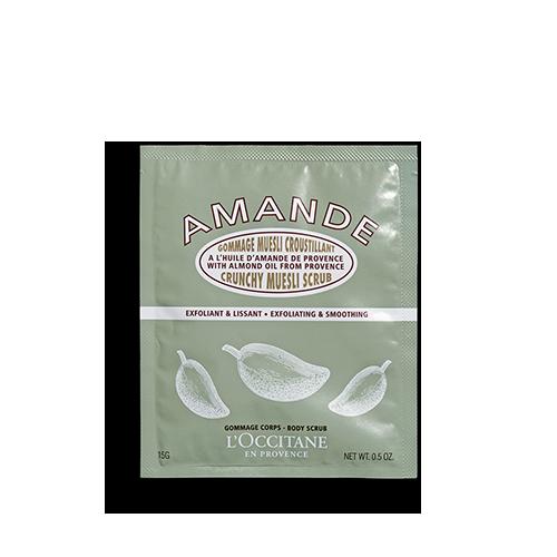 Almond Crunchy Muesli Scrub (Travel Size)
