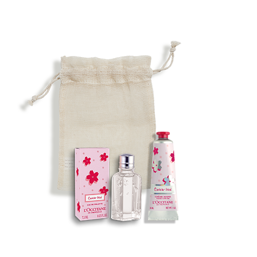 Cerisier Irisé Handbag Duo