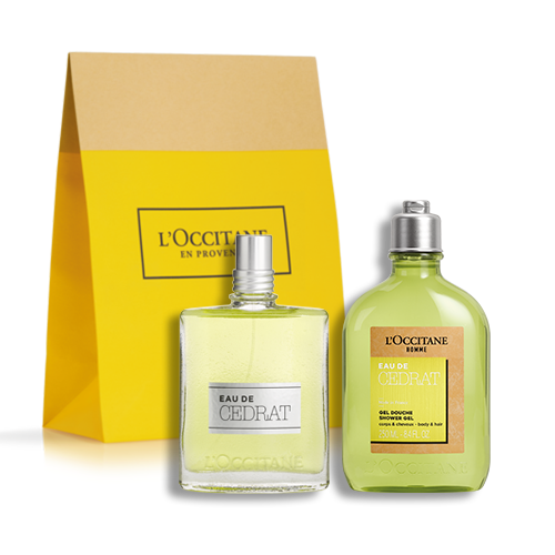 Eau De Cedrat Fragrance Duo