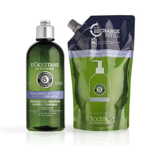 Gentle & Balance Micellar Shampoo Eco Duo