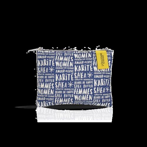 Navy Cosmetic Bag