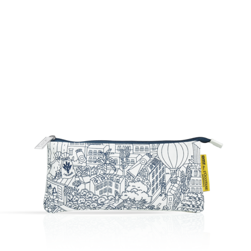 OMY Illustrated Cosmetic Bag