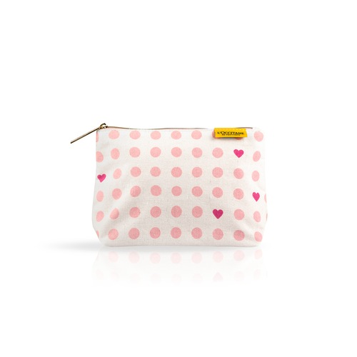 Spotted Cosmetic Bag