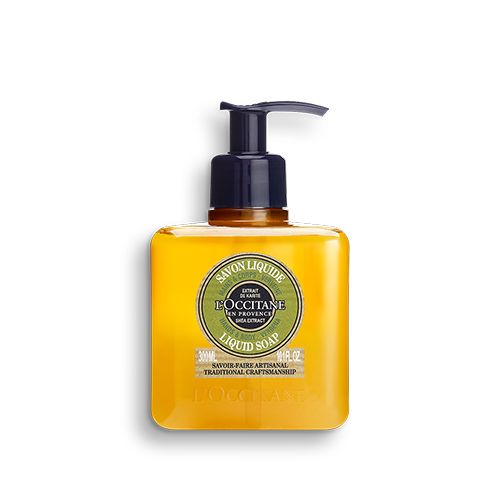 Shea Butter Body & Hand Liquid Soap-Verbena