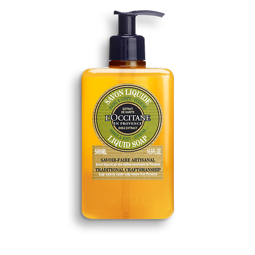 Shea Butter Body & Hand Liquid Soap-Verbena