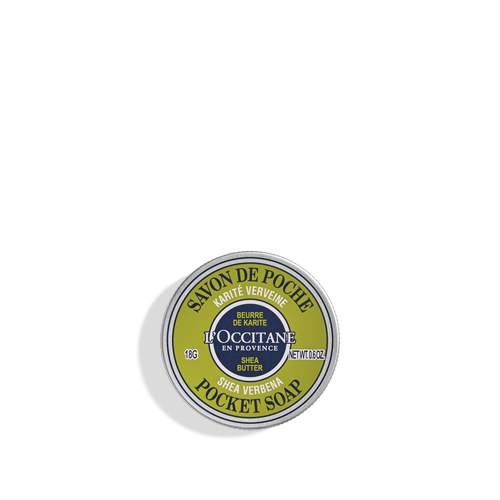 Shea Verbena Pocket Soap