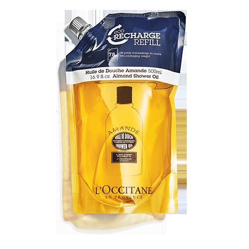 Almond Shower Oil Eco-Refill 500 ml