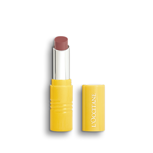 Our Fruity Lipsticks, infused with cold pressed pomegranate oil and organic carrot oil from Provence.