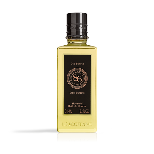 Oud Praline Shower Oil