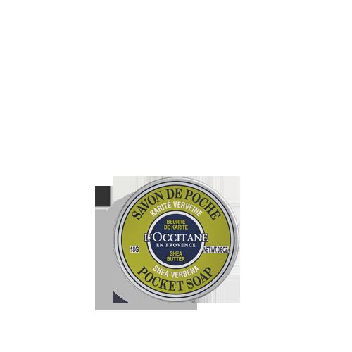 Pocket Soap Shea Verbena