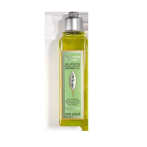 Gel de Ducha Exfoliante Verbena Menta 250 ml