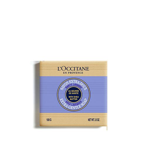 Jabón Extra-Suave Karité Lavanda  100g