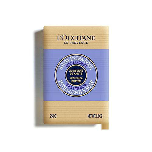 Jabón Extra-Suave Karité Lavanda 250 g