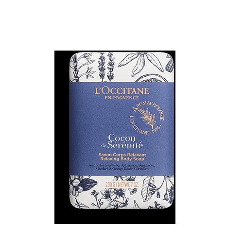 Jabón de Cuerpo Cocon de Sérénité (Azul relajante) 200g