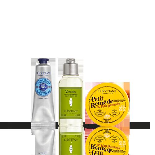 Trío Gel de Manos Limpias y Cuidados Hidratantes de Manos