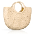 Handmade straw bag