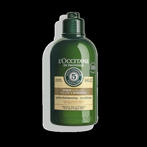 Après-shampoing Force & Volume Aromachologie 250ml