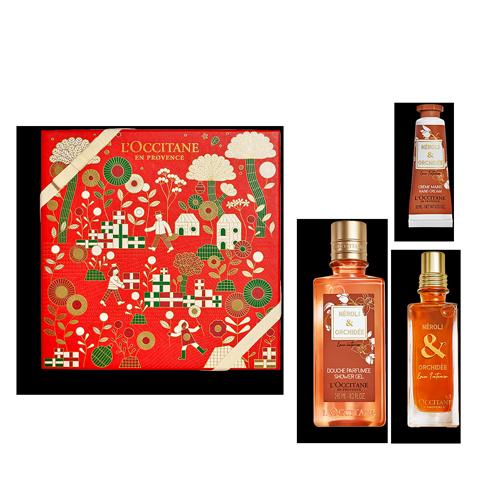 Coffret Cadeau Parfum Néroli & Orchidée Eau Intense
