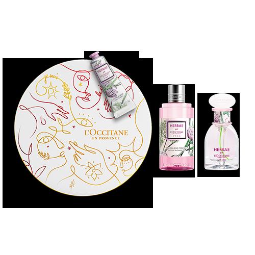 Coffret Cadeau Parfum Herbae par L'OCCITANE L'Eau