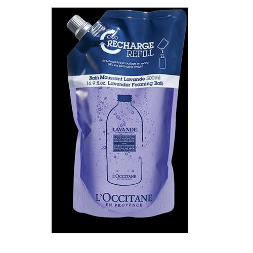 Éco-Recharge Bain Moussant Lavande 500 ml