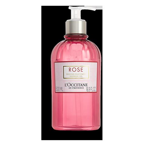 Gel Douche au parfum de Rose 500 ml