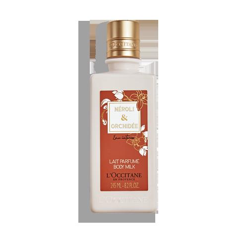 Lait Parfumé Néroli & Orchidée Eau Intense 245ml
