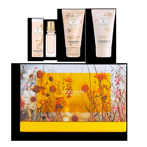 Coffret Cadeau Découverte Néroli & Orchidée