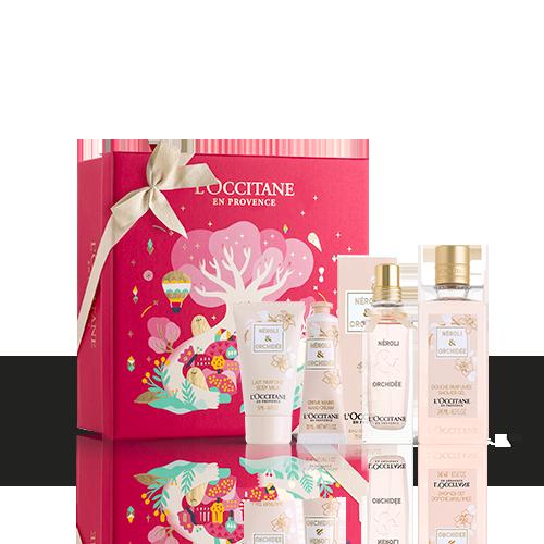 Coffret Cadeau Parfum et Corps Néroli & Orchidée