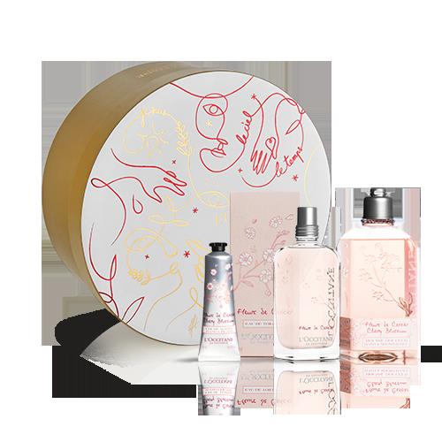 Coffret Cadeau Parfum Fleur de Cerisier