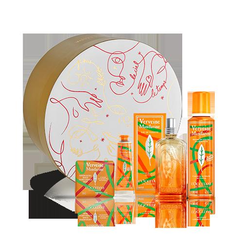 Coffret Cadeau Parfum Verveine Mandarine