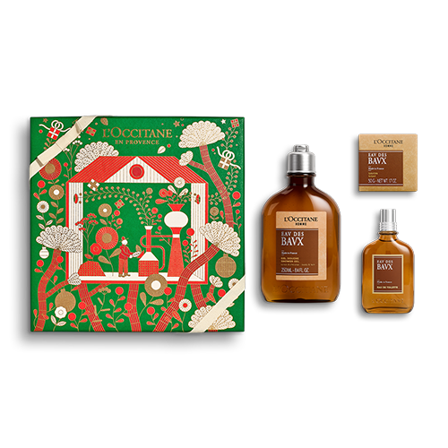 Coffret Cadeau Parfum Eau des Baux