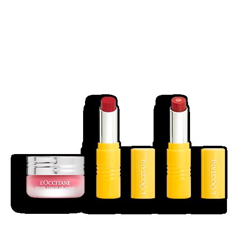 Coffret Trio Baume & Rouge à Lèvres